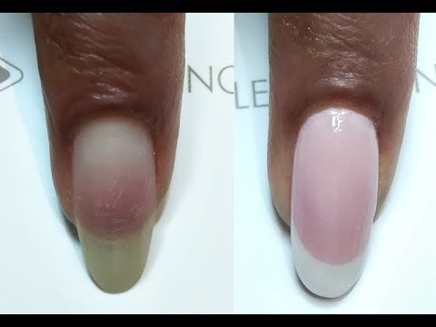 Longer Lasting French On Natural Nails