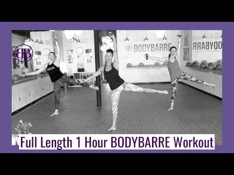 FULL BODY 💜  50+ Minute 💜 BODYBARRE WORKOUT!!!!