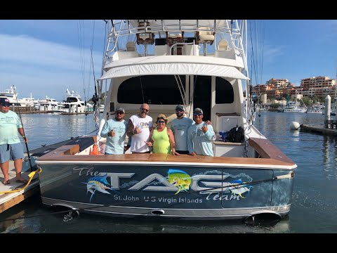 Gray FishTag Research And Pisces Sportfishing - Striped Marlin Sat Tag Deployment. Cabo San Lucas MX