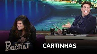 Cristiana Oliveira responde cartas dos famosos