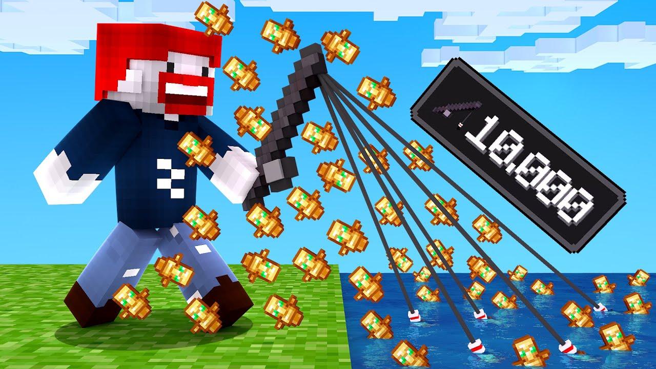 WIR VERZAUBERN WERKZEUGE AUF 10000! (Minecraft)