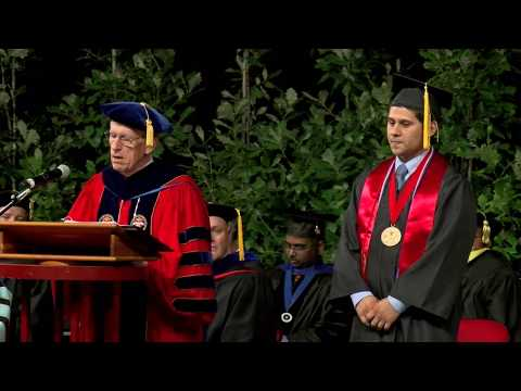 102nd University Commencement Ceremony (2013) - California S