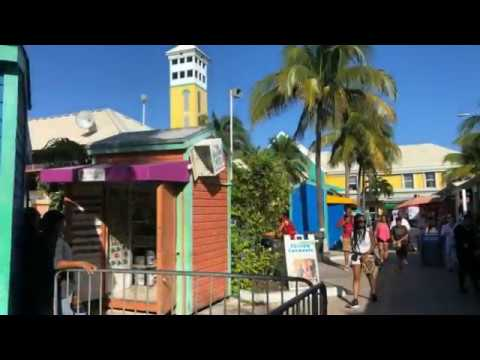 Port Bahamas Nassau Disney Dream Cruise Stop & Dancing with the Locals