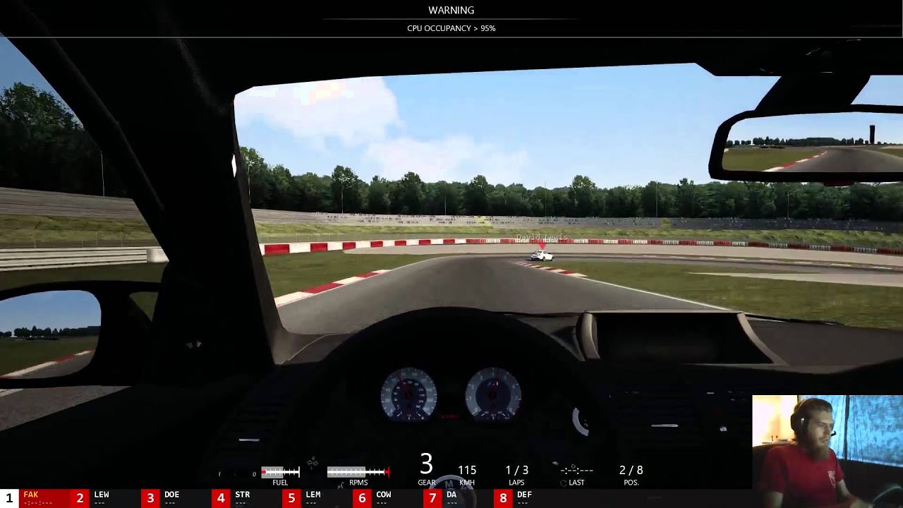 how to make assetto corsa windowed mode
