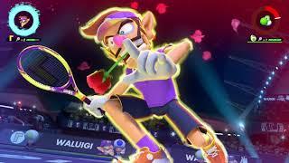 (Waluigi) Special Shot . Exhibition . Mario Tennis Aces (Nintendo Switch)