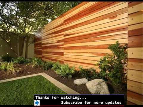 Great Wood Fence Designs | Fences U0026 Gates Design For Outdoor   Garden