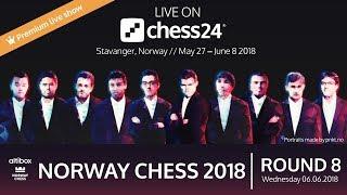 Round 8 - 2018 Altibox Norway Chess