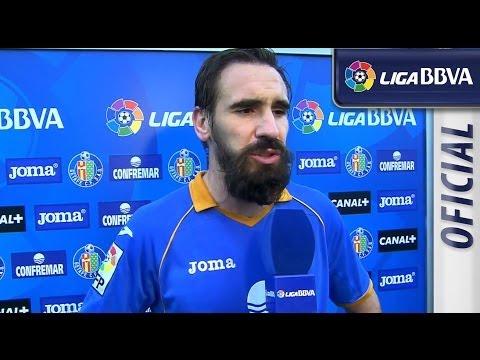 Entrevista a Borja tras el Getafe CF (0-1) Rayo Vallecano - HD
