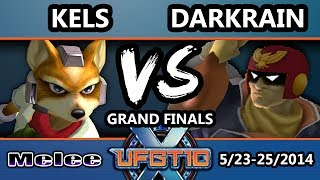 UFGTX - Darkrain (Captain Falcon) Vs. IPG | Kels (Fox) SSBM Grand Finals - Smash Melee
