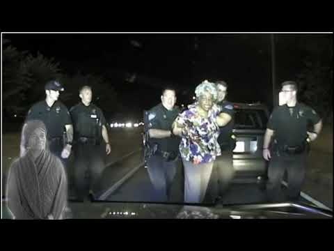 65 Year Old Elderly Black Woman Roughed Up In Traffic Stop Video