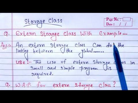 extern storage class in c | Learn Coding | #storageclass