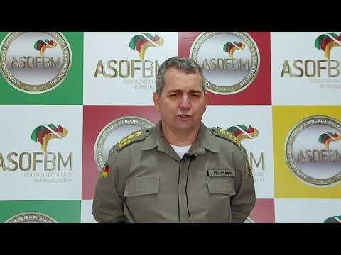 Visita e chamamento do Chefe do Estado Maior da BM