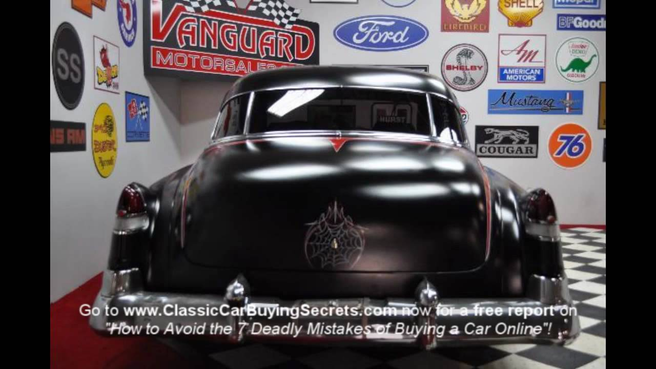 1951 Cadillac Series 62 Classic Muscle Car for Sale in MI Vanguard ...