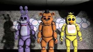 SFM FNAF Five Nights at Freddy's 1 Song   by The Living Tombstone FNAF Song Animated
