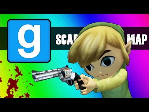 Thumbnail: Gmod Scary Map (Not Really) Moments - Cat Jumpscare & Room of Death!