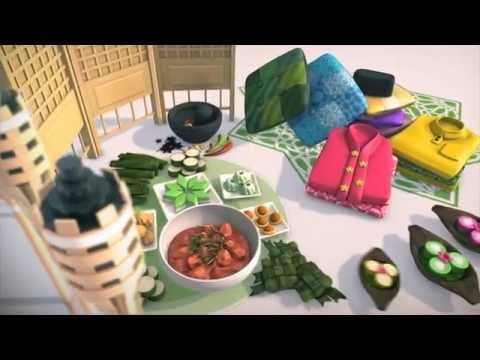 Channel 5 'Hari Raya Specials' Package (Singapore Motion Graphics)