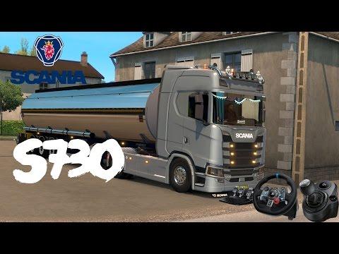 Euro Truck Simulator 2 | Scania S730 [G29]
