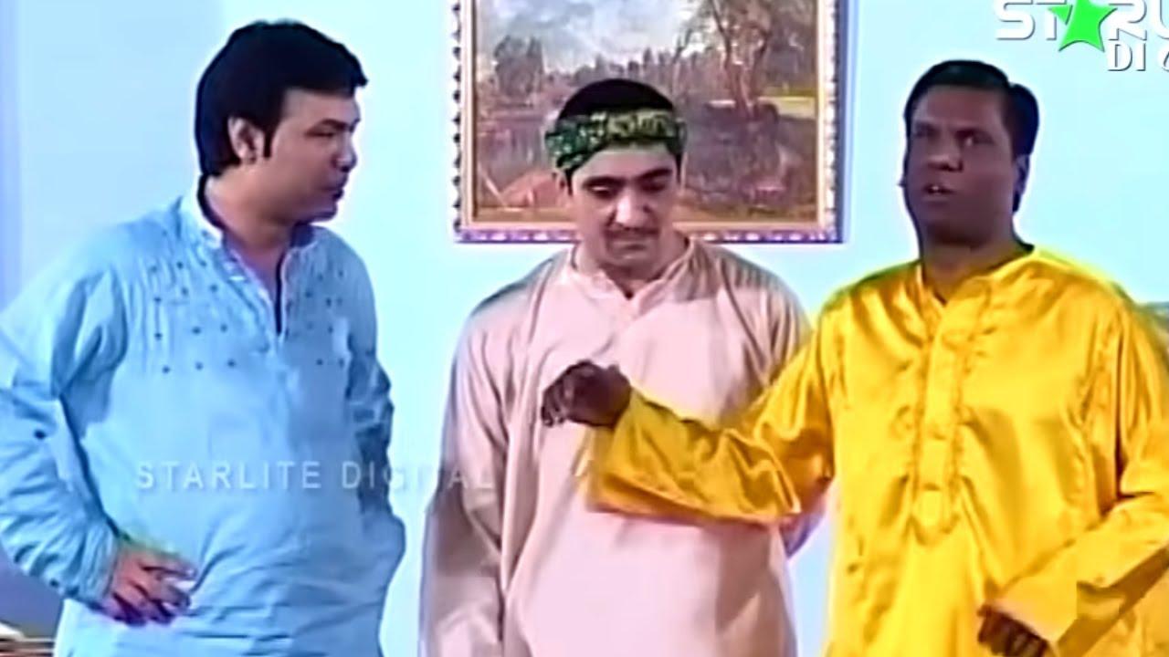 Amanat Chan, Asif Iqbal and Zafri Khan New Pakistani Stage Drama Full Comedy Funny Clip | Pk Mast