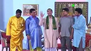 Amanat Chan, Asif Iqbal and Zafri Khan New Pakistani Stage Drama Full Comedy Funny Clip
