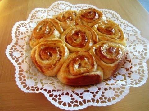 Prinzessin Kuchen Aus Hefeteig Mit Pudding Gefullt Youtube