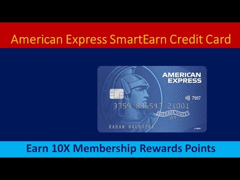 American Express SmartEarn Credit Card Full Details