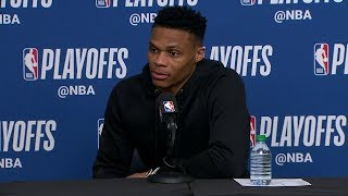 Russell Westbrook Postgame Interview | Thunder vs Jazz - Game 6 | April 27, 2018 | 2018 NBA Playoffs