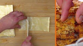 So machst du aus gebackenen Lasagneplatten Partyfutter!