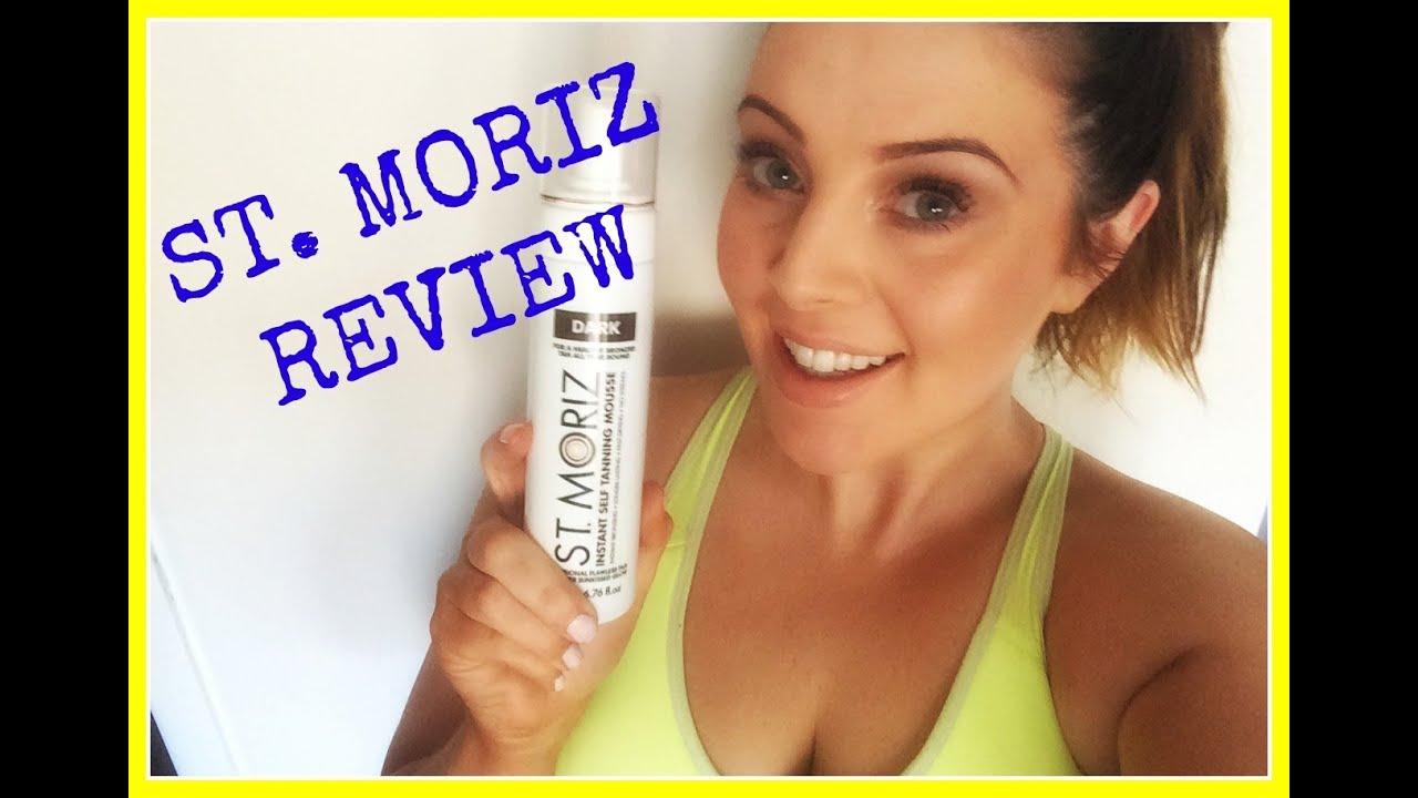 st moriz dark mousse tan review before after youtube. Black Bedroom Furniture Sets. Home Design Ideas