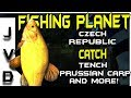 Fishing Planet Tips | Catch Tench & More! | Lesni Vila Fishery | Czech Republic | European Lakes