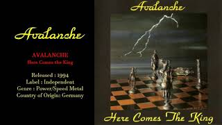Avalanche (GER) - Here comes the King (1994) Full Album