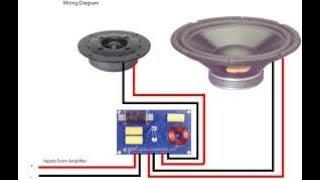 Speaker protection circuit. Cross over