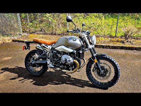 BMW RnineT on Knobbies!! • Big Spyder RT Service! | TheSmoaks Vlog_884