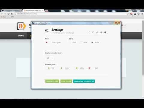 Grab Any Media 5 | How To Download Streaming Rtmp:// With GAM And JDownloader 2 Beta