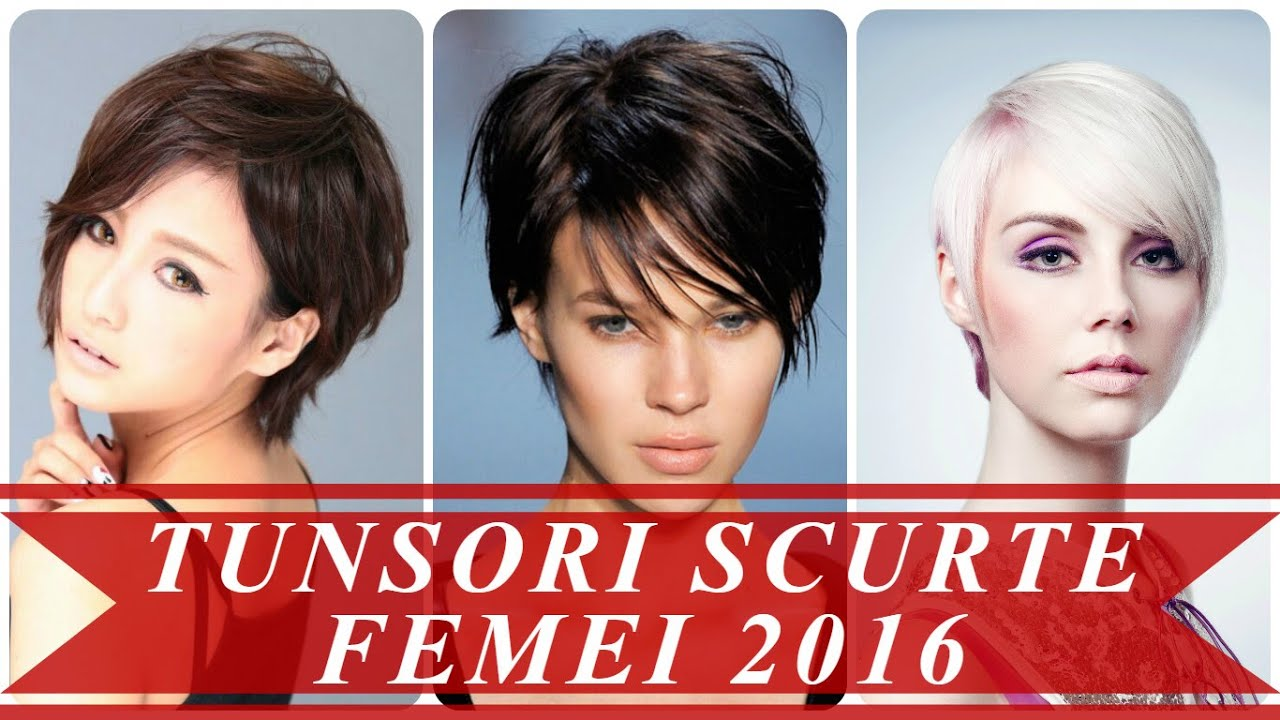 Tunsori Scurte Femei 2016 By Coafuri Si Tunsori