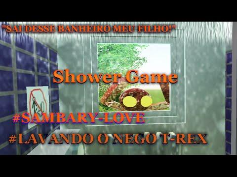 Shower Gamer # LAVANDO O NEGO T-REX - GARY GAMES