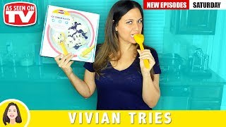 ICE CREAM IN UNDER 5 MINUTES!   TESTING AS SEEN ON TV PRODUCTS