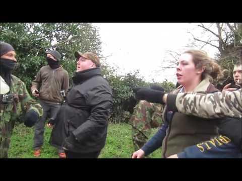 Shaun Stacey Attacks peaceful Sabs