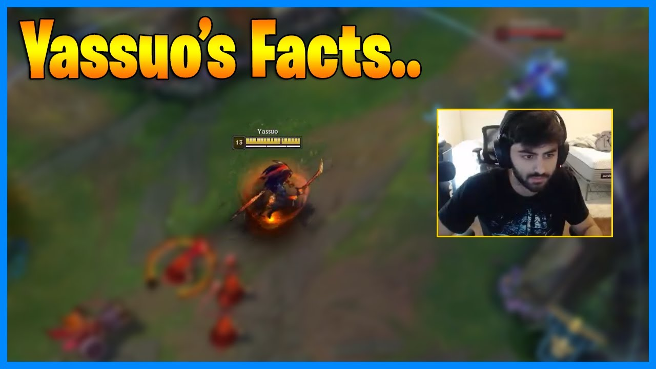 How Moe Plays Yassuo? (Facts) LoL Daily Moments Ep 1331