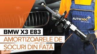 Cum se inlocuiesc amortizoare din față pe BMW X3 E83 TUTORIAL | AUTODOC