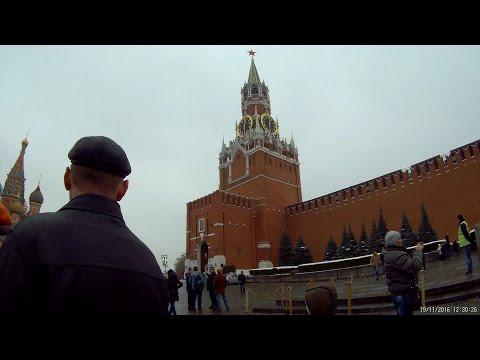 Красная площадь и ГУМ 19.11.2016