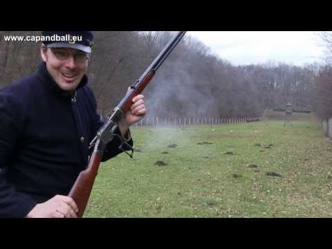 30 to 120 m fun with Uberti 44-40 1873 Winchester rifle