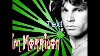 Jim Morrison Speed Drawing