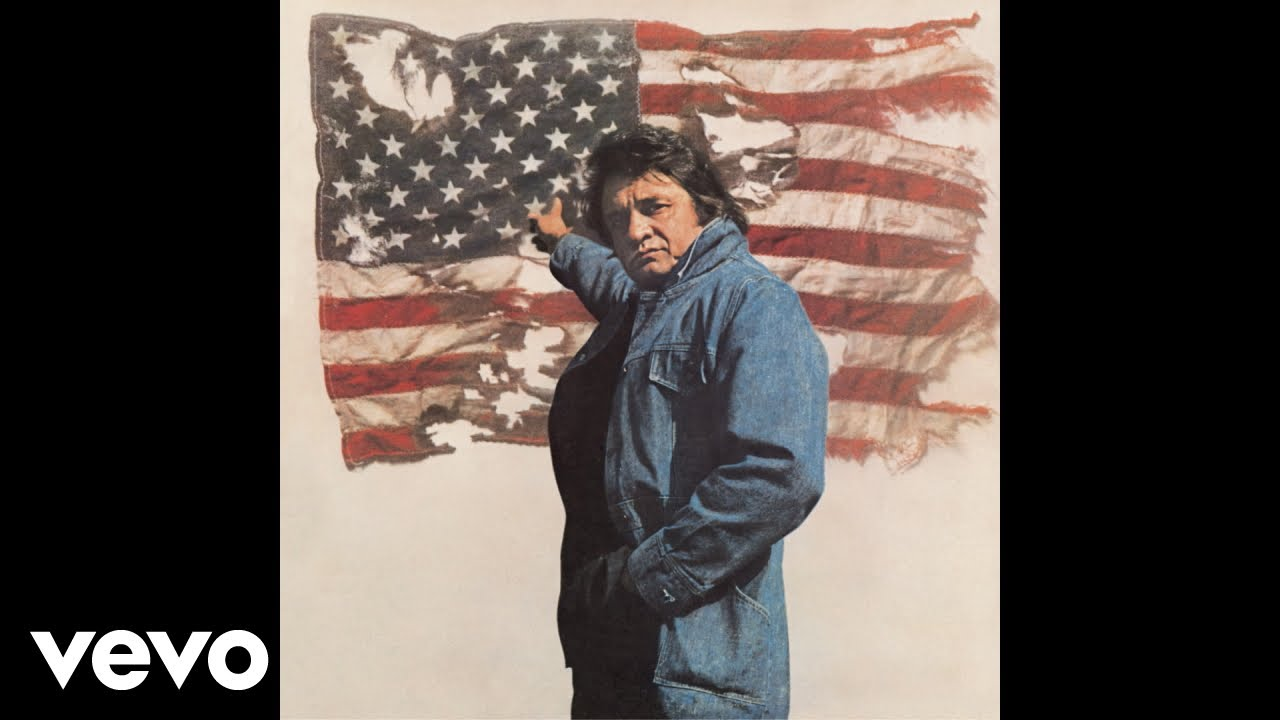 Johnny Cash - Ragged Old Flag (Official Audio)