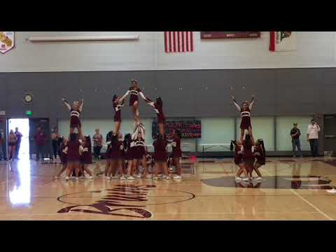 Riverbank High School Cheer 2017