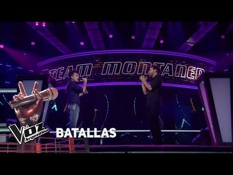 """Braulio Assanelli Vs D. Marquez - """"Y Si Fuera Ella"""" - Ale Sanz - Batallas - La Voz Argentina 2018"""