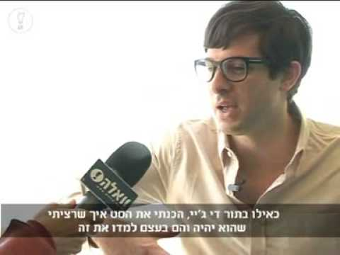 Mark Ronson Interview (Israel Dec.08)