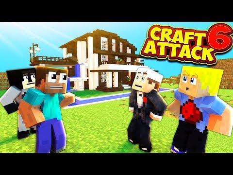 Mein HAUS muss fertig werden! - CraftAttack 6 Livestream vom 09.01.19