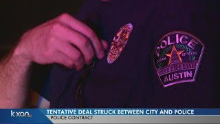City, Austin police union reach tentative contract