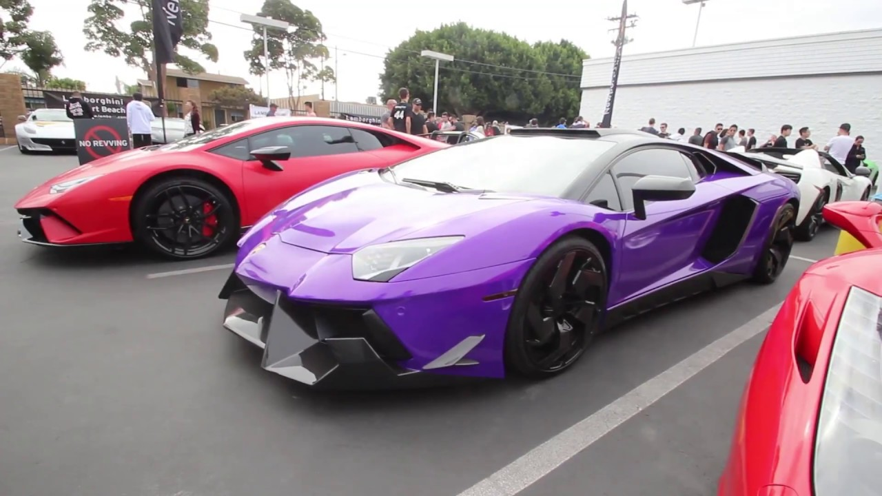 Super Car Show Lamborghini Newport Beach April YouTube - Lamborghini newport beach car show 2018