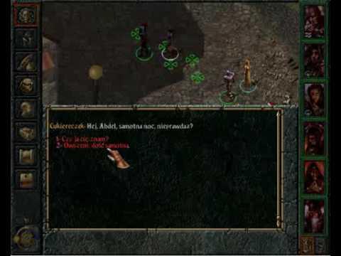 Baldurs Gate Saga - prezentacja gry